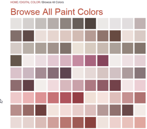 Madison Alabama Paint Color Samples